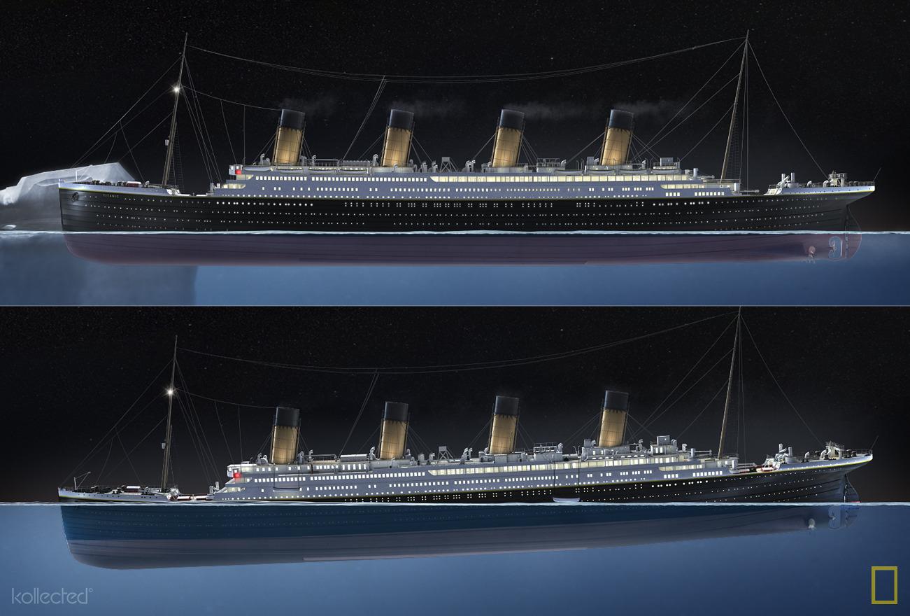 Titanic 100 Years Kollected