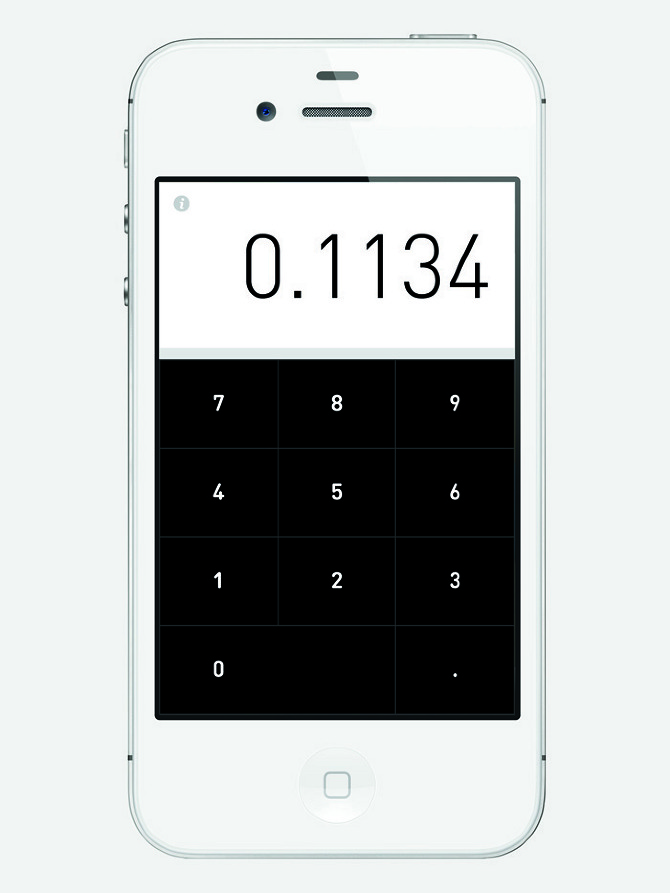 Berger.Fohr Rechner Hi.Res 01 Rechner Calculator by Berger & Föhr in thisispaper.com