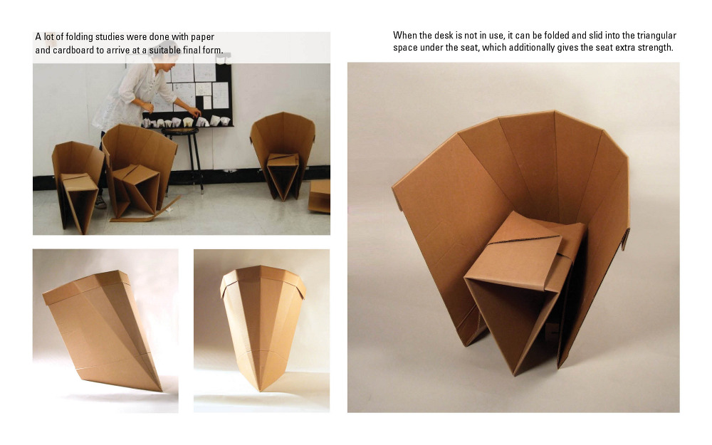 portable cardboard chair 3